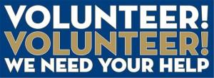 volunteer need your help