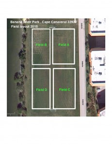 Banana River Park layout 2015