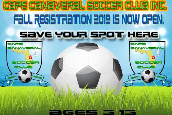 2019 Fall Registration is now open. Check out our coaches discount